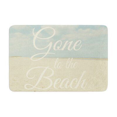 Alison Coxon Gone to the Beach Memory Foam Bath Rug