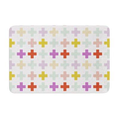 Pellerina Design Orchid Plus Memory Foam Bath Rug