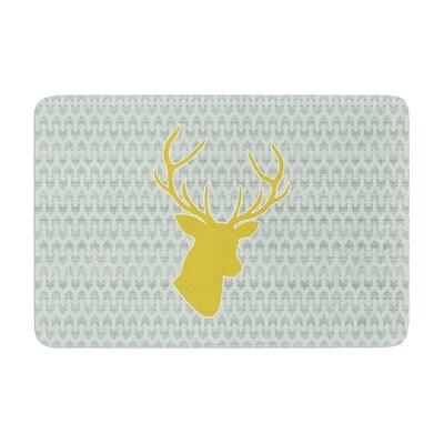 Pellerina Design Deer Memory Foam Bath Rug
