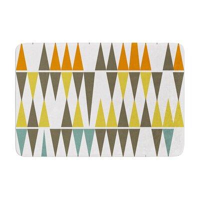 Pellerina Design Diamond Kilim Triangles Memory Foam Bath Rug