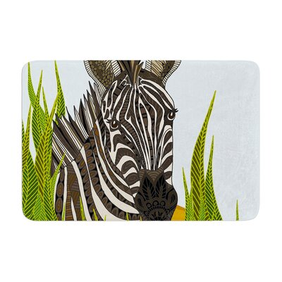 Art Love Passion Zebra Memory Foam Bath Rug