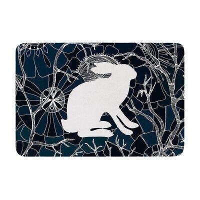 Anchobee Hare Memory Foam Bath Rug