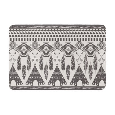 Amanda Lane Native Roots Memory Foam Bath Rug