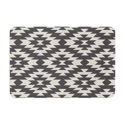 Amanda Lane Navajo Tribal Geometric Memory Foam Bath Rug