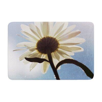 Angie Turner Daisy Bottom Sky Flower Memory Foam Bath Rug