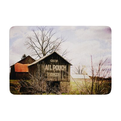 Angie Turner Mail Pouch Barn Wooden House Memory Foam Bath Rug