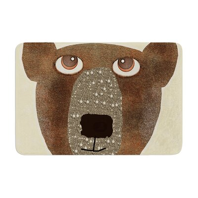 Bri Buckley Bear Memory Foam Bath Rug