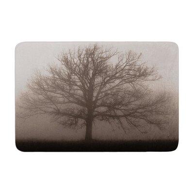 Angie Turner Lonely Tree Fog Memory Foam Bath Rug