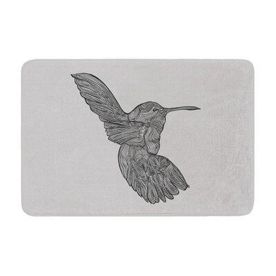 Belinda Gillies Hummingbird Memory Foam Bath Rug