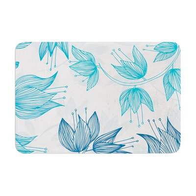Anchobee Biru Dream Memory Foam Bath Rug