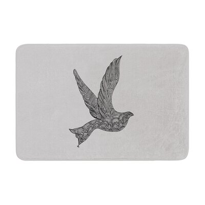 Belinda Gillies Dove Memory Foam Bath Rug