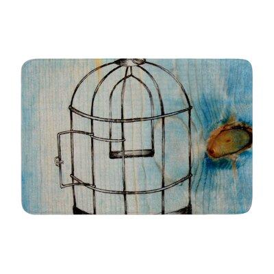Brittany Guarino Bird Cage Memory Foam Bath Rug