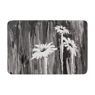 Brienne Jepkema Daises Flowers Memory Foam Bath Rug