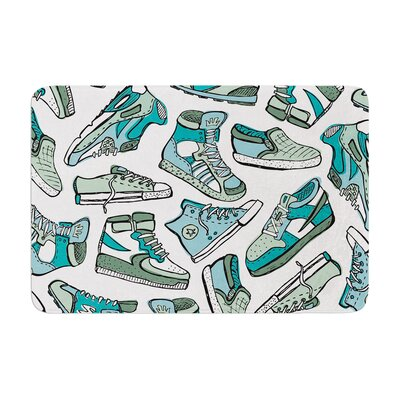 Brienne Jepkema Sneaker Lover III Memory Foam Bath Rug