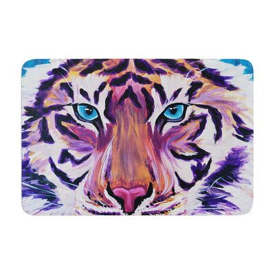 Brienne Jepkema Tiger Memory Foam Bath Rug