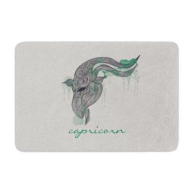 Belinda Gillies Capricorn Memory Foam Bath Rug