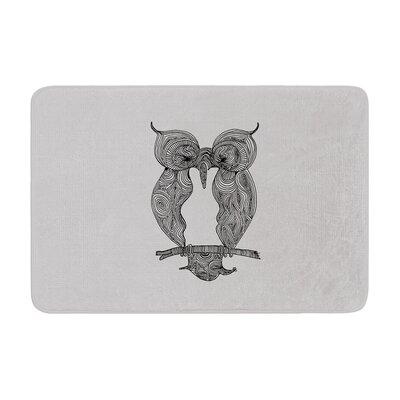 Belinda Gillies Owl Memory Foam Bath Rug