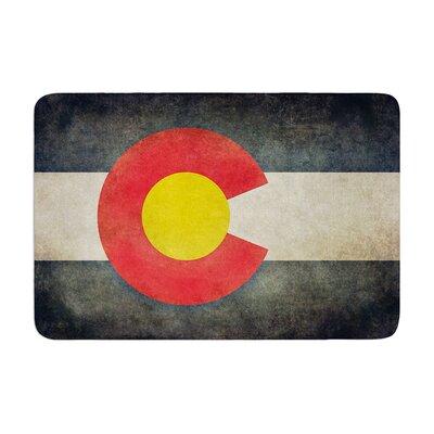 Bruce Stanfield State Flag of Colorado Memory Foam Bath Rug
