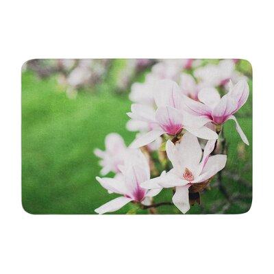 Angie Turner Magnolias Memory Foam Bath Rug