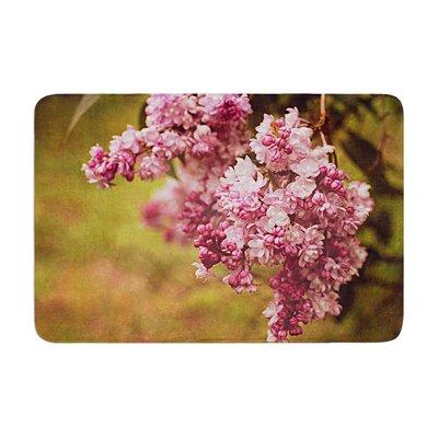 Angie Turner Lilacs Flower Memory Foam Bath Rug