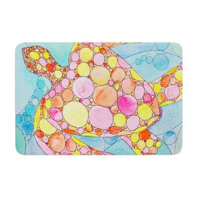 Catherine Holcombe Circle Turtle Memory Foam Bath Rug