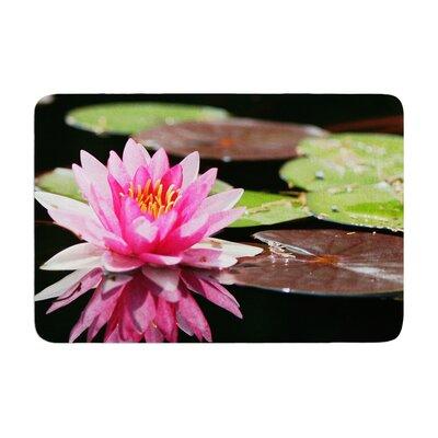Angie Turner Water Lily Memory Foam Bath Rug