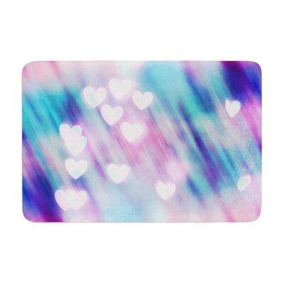 Beth Engel Your Love is Sweet Like Candy Heart Memory Foam Bath Rug