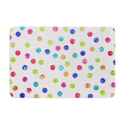 Beth Engel Seeing Dots Memory Foam Bath Rug