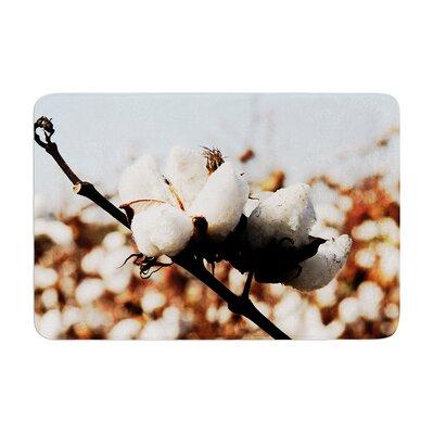 Beth Engel Southern Snow Cotton Memory Foam Bath Rug