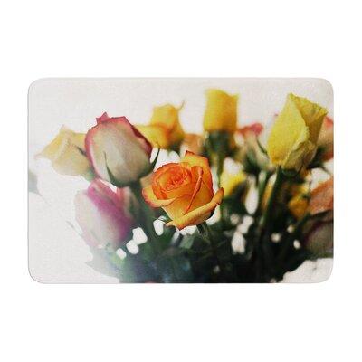 Beth Engel Sweet Reminder Flowers Memory Foam Bath Rug