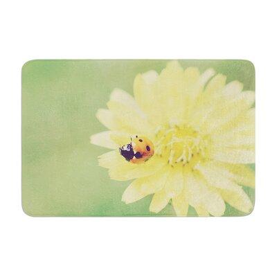 Beth Engel Little Lady Ladybug Memory Foam Bath Rug