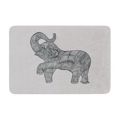 Belinda Gillies Elephant Memory Foam Bath Rug