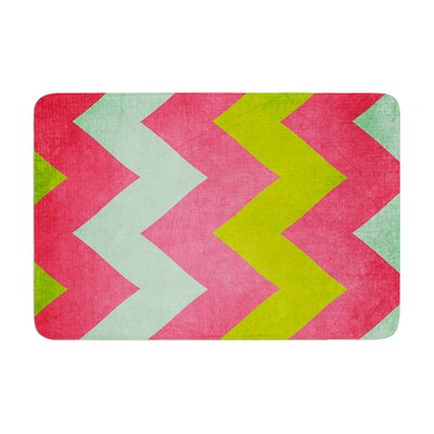 Catherine McDonald Cocktails with Lilly Memory Foam Bath Rug