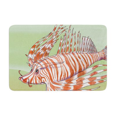 Catherine Holcombe Fish Manchu Memory Foam Bath Rug