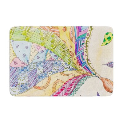 Catherine Holcombe the Painted Quilt Memory Foam Bath Rug