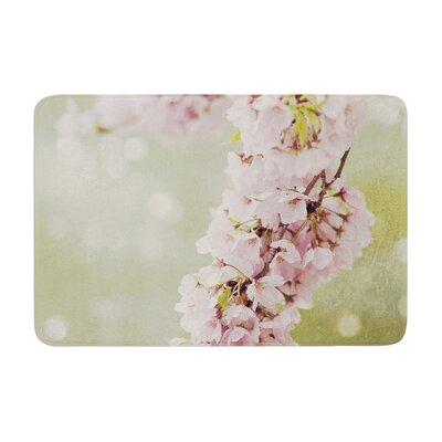 Catherine McDonald Cherry Blossom Memory Foam Bath Rug