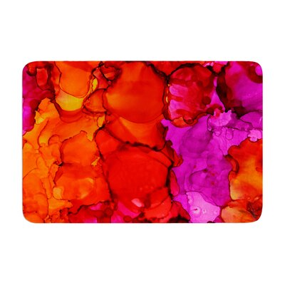 Claire Day Fierce Memory Foam Bath Rug