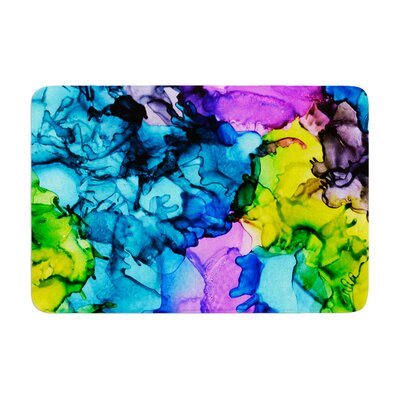 Claire Day Mermaids Paint Memory Foam Bath Rug