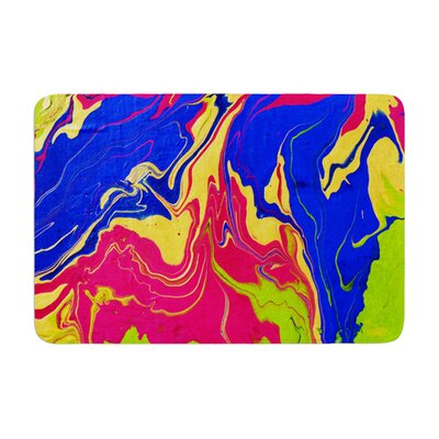 Claire Day Escaping Reality Memory Foam Bath Rug