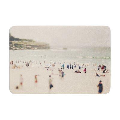 Catherine McDonald Bondi Beach Coastal People Memory Foam Bath Rug
