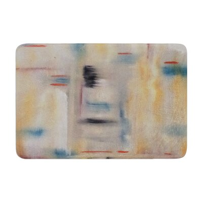 Cathy Rodgers Library Painting Abstract Memory Foam Bath Rug