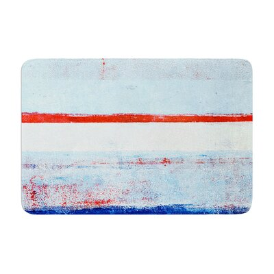 CarolLynn Tice Stripes Memory Foam Bath Rug