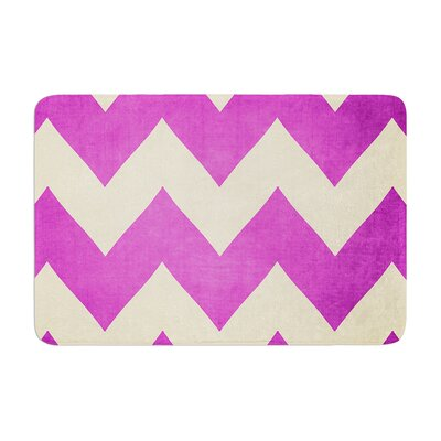 Catherine McDonald Juicy Chevron Memory Foam Bath Rug
