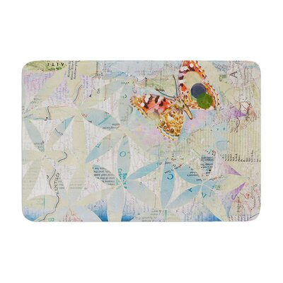 Catherine Holcombe Miraculous Recovery Butterfly Memory Foam Bath Rug
