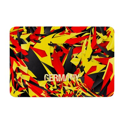 Danny Ivan Germany World Cup Memory Foam Bath Rug