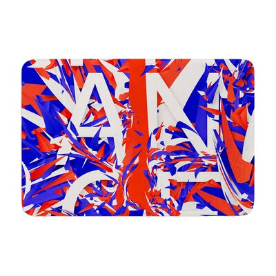 Danny Ivan France World Cup Memory Foam Bath Rug