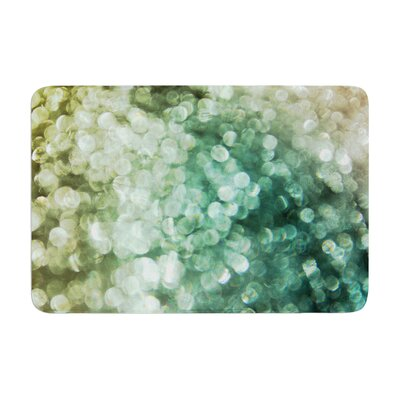 Debbra Obertanec Sparkle Glitter Memory Foam Bath Rug