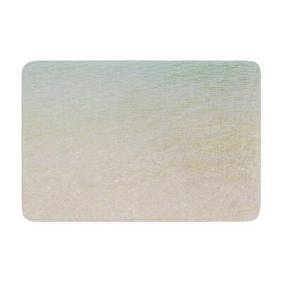 Catherine McDonald Ombre Sea Beach Photography Memory Foam Bath Rug