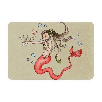Carina Povarchik Mermaids Lovely Memory Foam Bath Rug