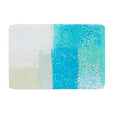 CarolLynn Tice Shallow Cool Memory Foam Bath Rug